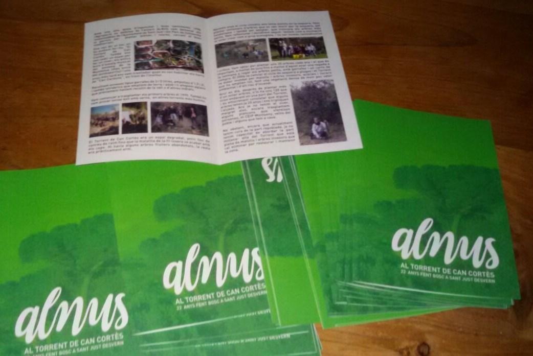 Diptic Alnus al Torrent de can Cortès