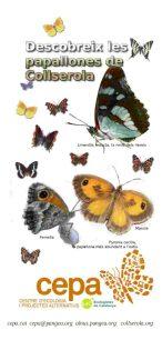 Les papallones de Collserola. Triptic.